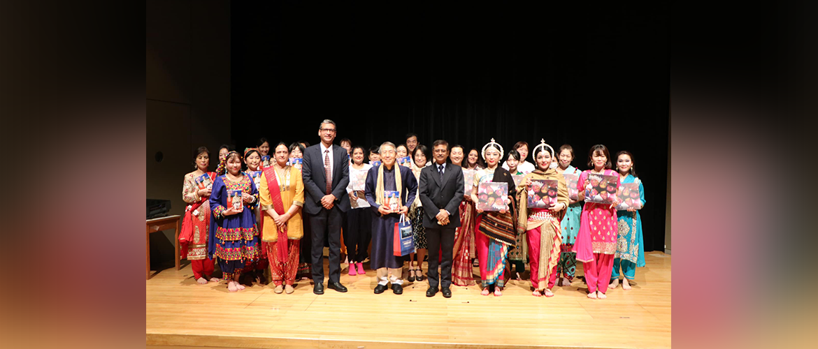 Embassy marked the 71st Foundation Day of ICCR
