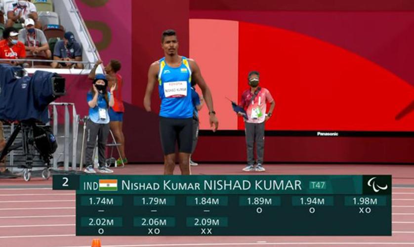 India wins its 2nd medal at Tokyo 2020 Paralympic