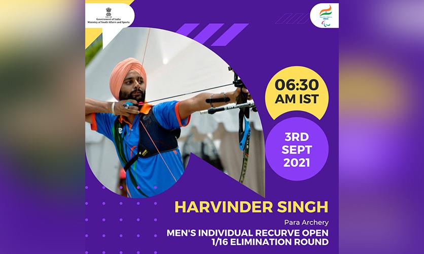 Harvinder Singh, Para Archery, 3 September, 2021