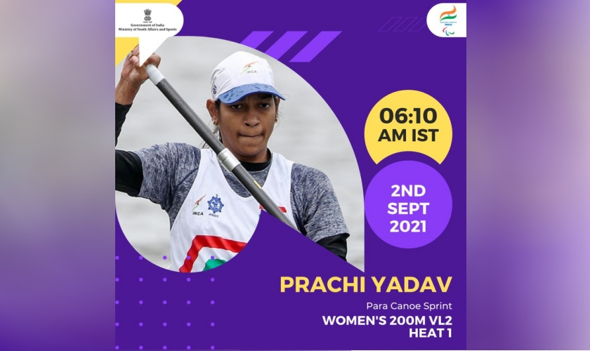 Prachi, Para Canoe sprint, 2 September, 2021