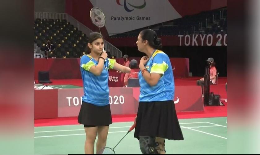 Palak Kohali & Parul Parmar, Para Badminton, 2 September, 2021