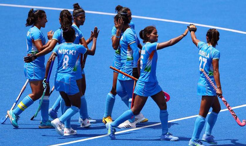 Congratulations Indian Women's  Hockey Team